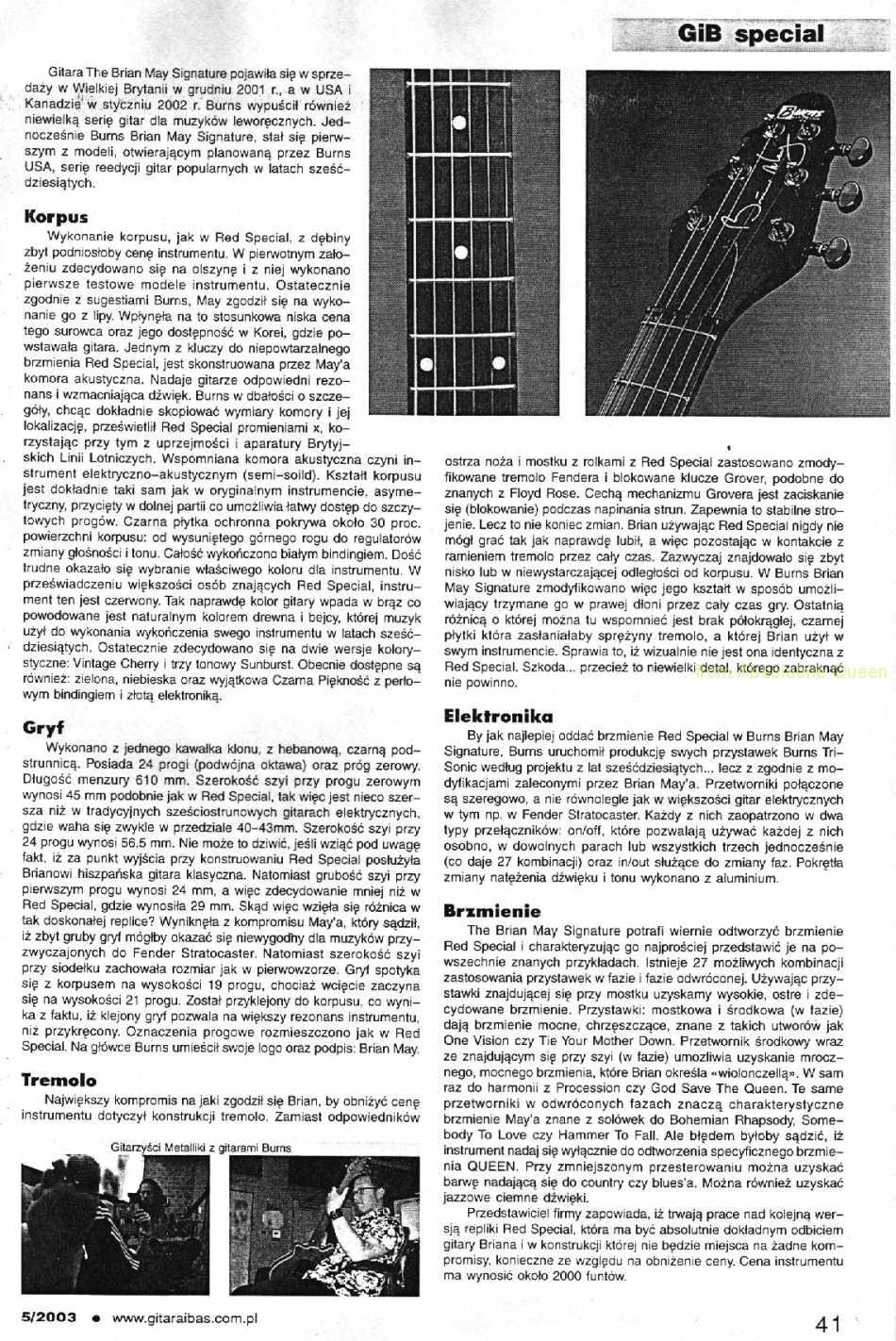 Gitara i bas 5/2003 cz1 part 2