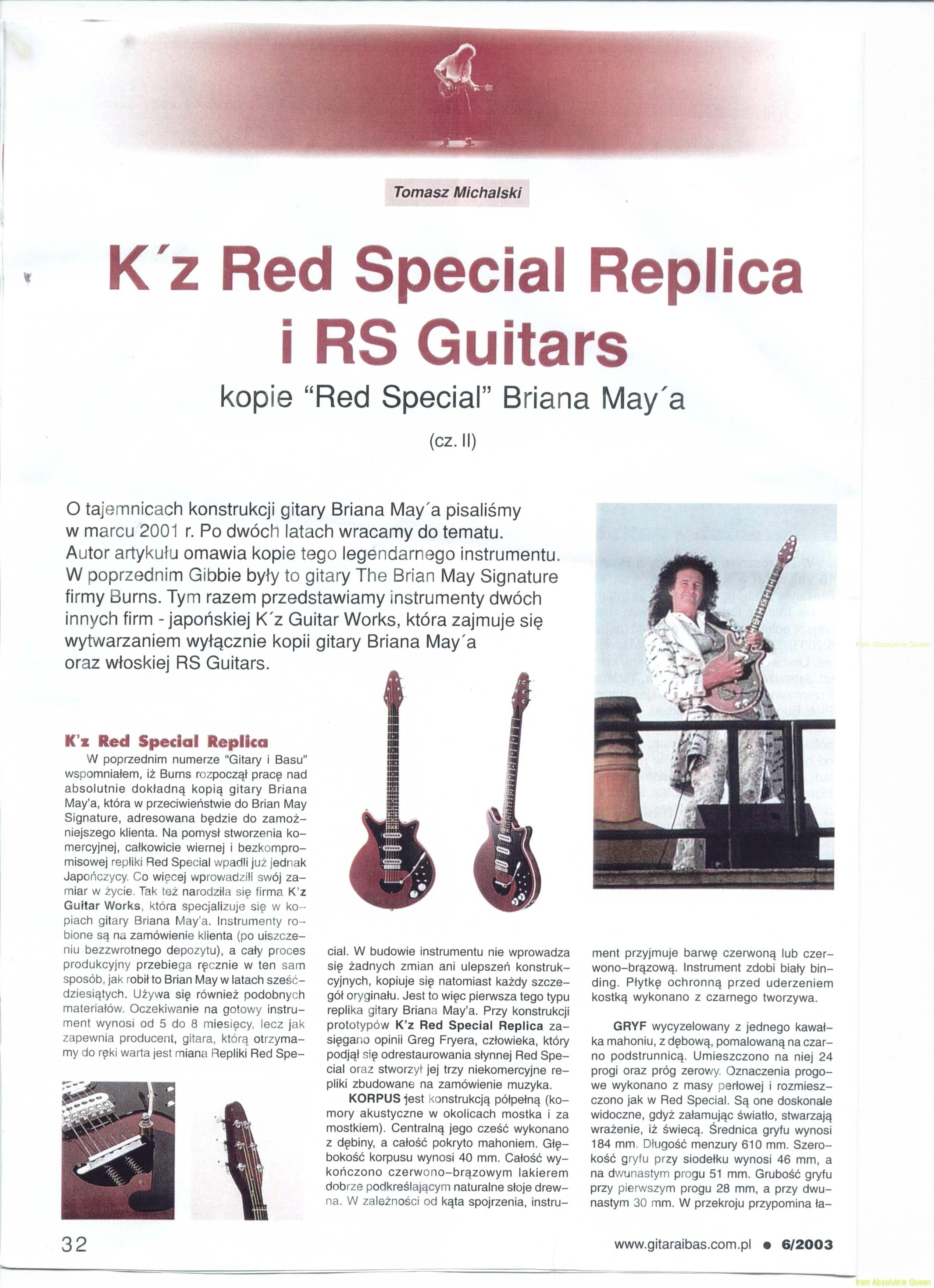 Gitara i bass nr 6/2003 cz. 2 part 1