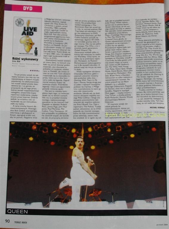 Teraz Rock 12/2004 - Live Aid