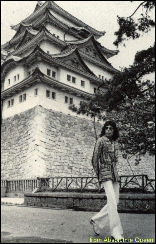 1975-04 Japonia - Freddie Mercury