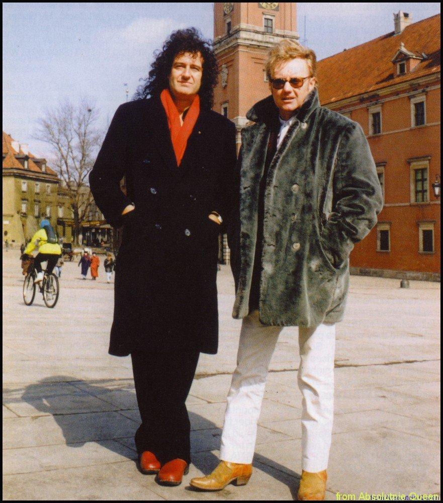 1996-03-19 Fryderyki - Brian May, Roger Taylor