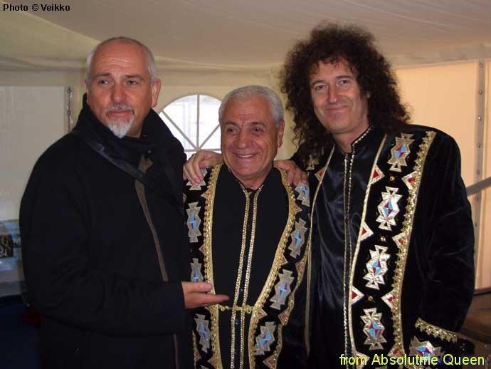 2005-06-11 Arctic 46664 - Brian May, Peter Gabriel, Jivan Gasparyan