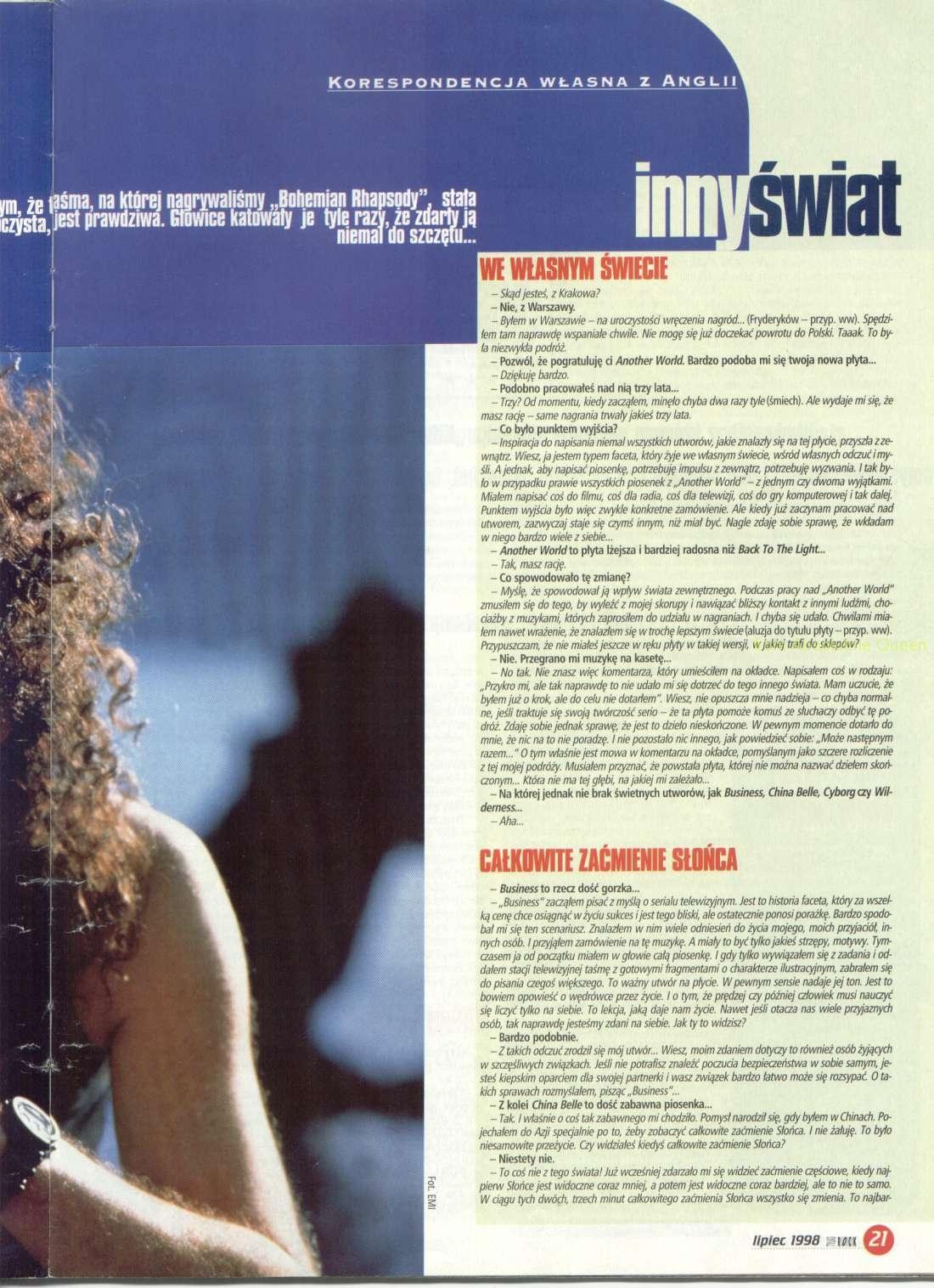 Tylko Rock 07/1998 cz.2