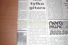 BRIAN MAY - NIE TYLKO GITARA artykuł z expresu Bydgoskiego 1992 r